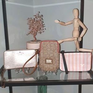 Wristlet bundle. Kate Spade, Calvin Klein, VS